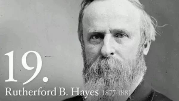 卢瑟福德 海斯 1822-1893