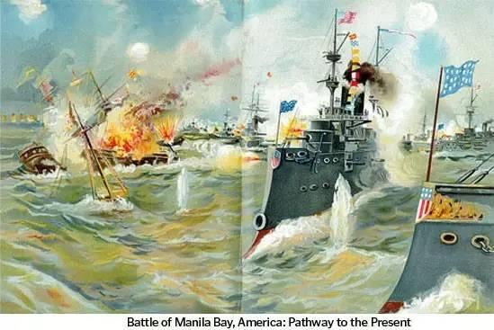 美西战争,马尼拉湾